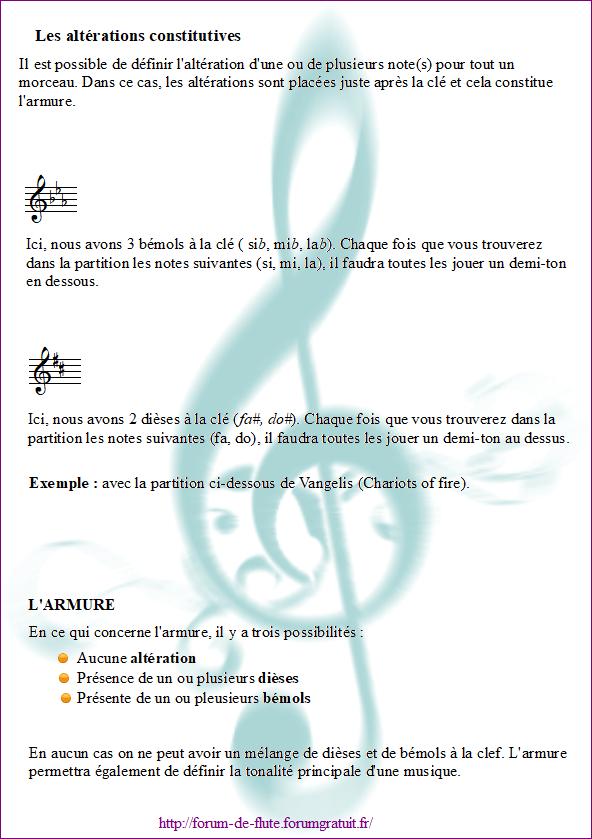 3) LES ALTÉRATIONS Alterations2