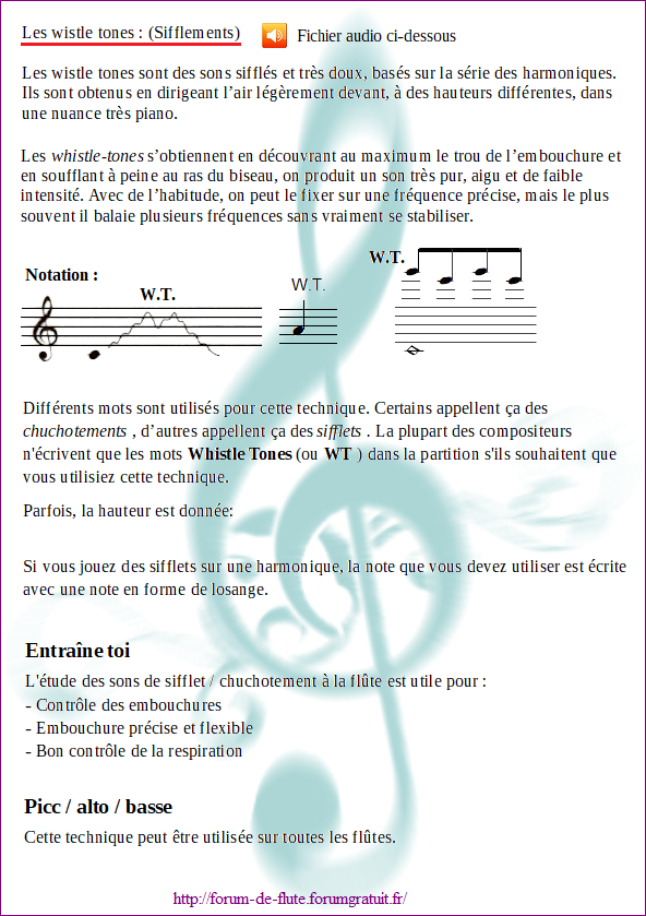 8) WHISTLE TONES (Sifflements) Wistle-tones1