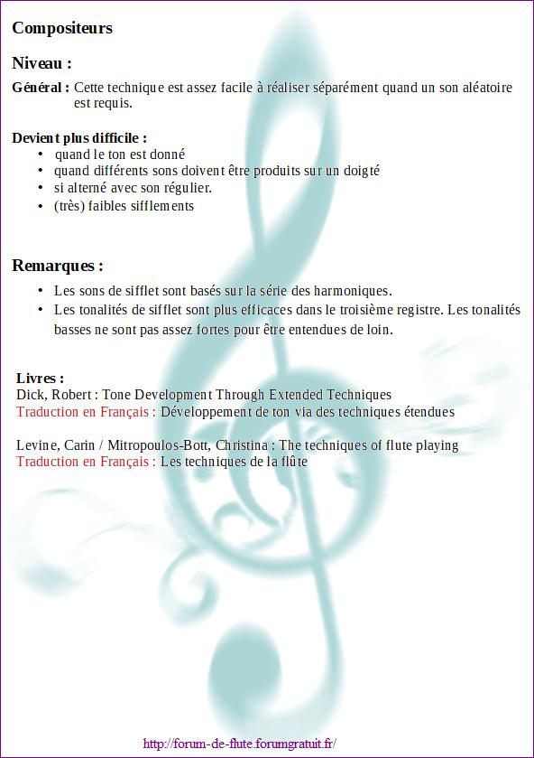 8) WHISTLE TONES (Sifflements) Wistle-tones2